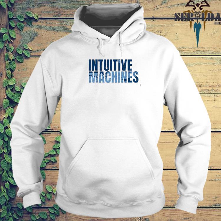 Intuitive Machines Blue Shirt hoodie